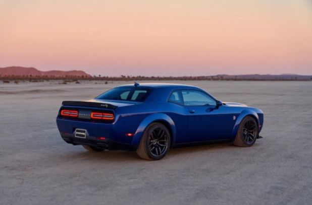 2020 Dodge Challenger rear