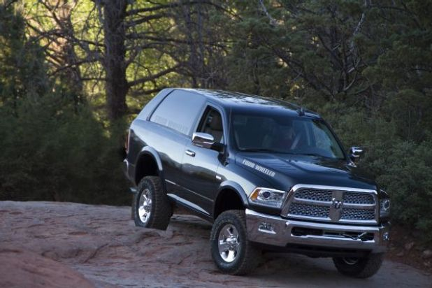 2020 Dodge Ramcharger front