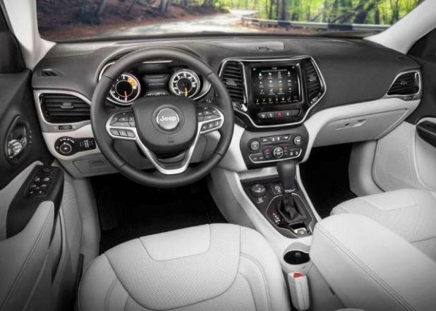 2020 Jeep Grand Wagoneer interior