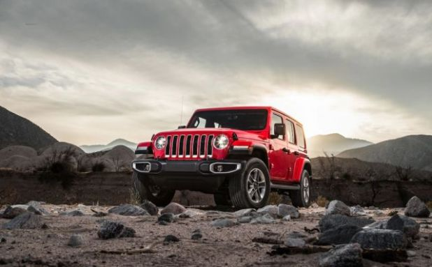 2020 Jeep Wrangler PHEV front