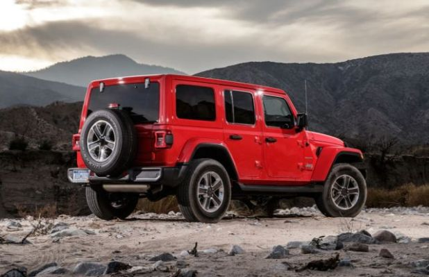 2020 Jeep Wrangler PHEV rear