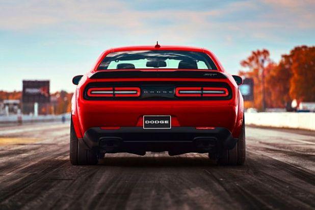 Dodge Challenger Demon rear