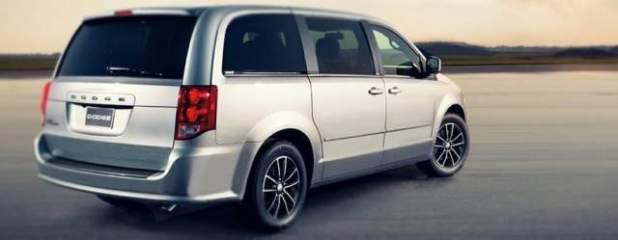 2020 Dodge Grand Caravan rear