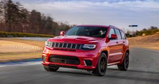 2020 Jeep Grand Cherokee Trackhawk front