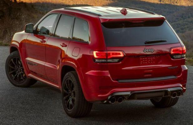 2020 Jeep Grand Cherokee rear