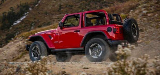 2020 Jeep Wrangler Hybrid rear