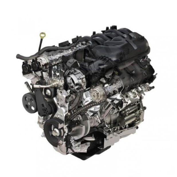2020 Jeep Wrangler Unlimited engine