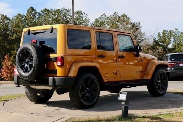 2020 Jeep Wrangler Unlimited rear