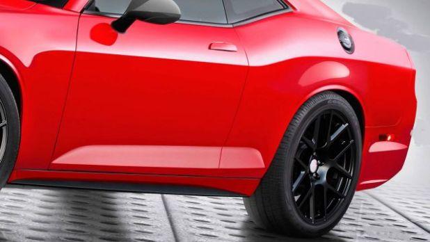 2021 Dodge Challenger view
