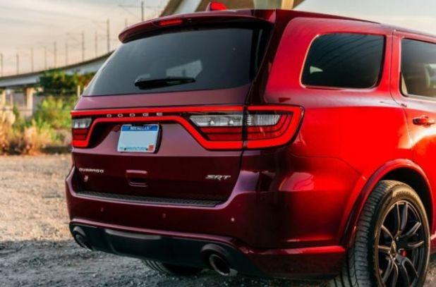 2021 Dodge Durango rear