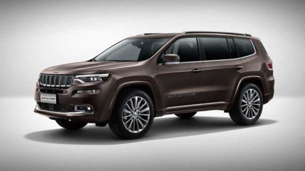 2020 Jeep Grand Commander front