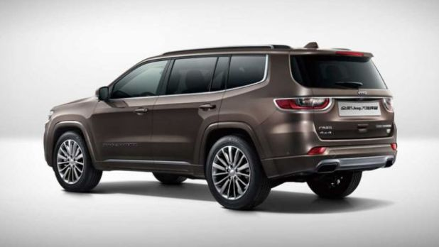 2020 Jeep Grand Commander rear