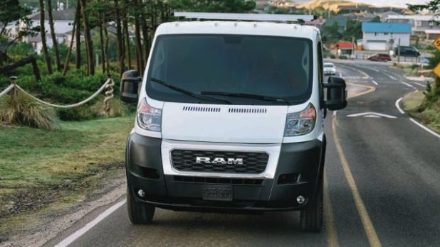 2020 RAM ProMaster front