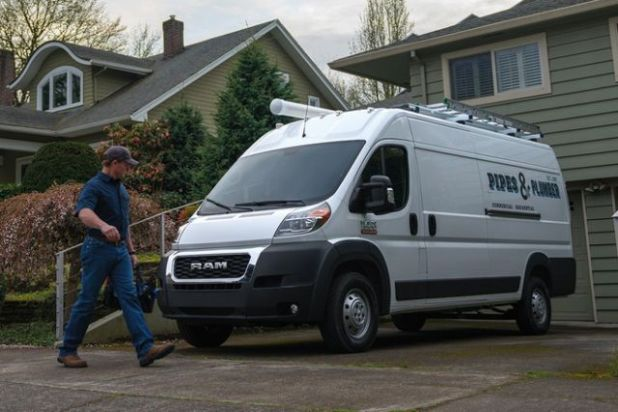 2020 RAM ProMaster side
