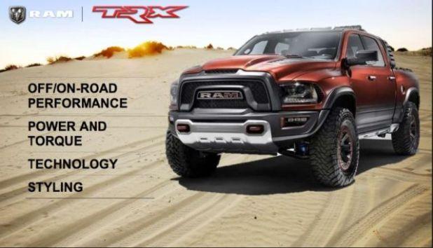 2021 Ram 1500 Rebel TRX front