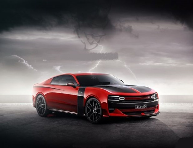 2020 Chrysler Valiant Charger front