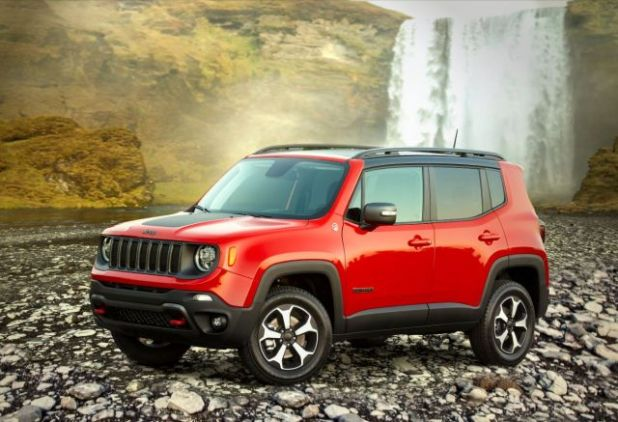 2020 Jeep Renegade PHEV front