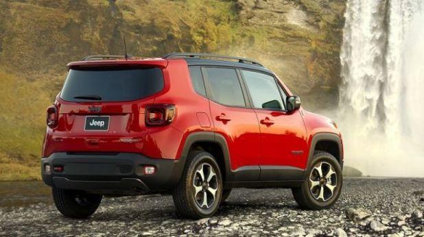 2020 Jeep Renegade PHEV rear