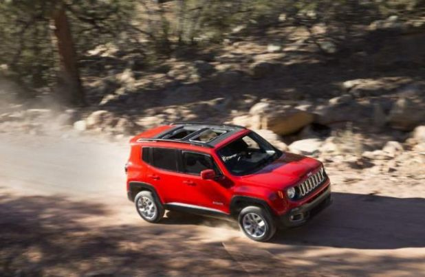 2020 Jeep Renegade PHEV side
