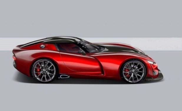 2021 Dodge Viper front