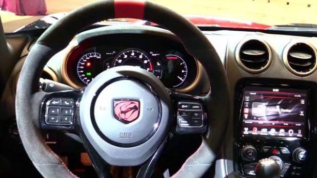 2021 Dodge Viper interior