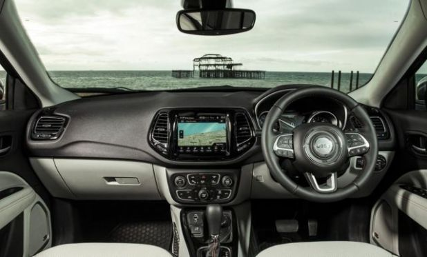2020 Jeep Compass Turbo interior