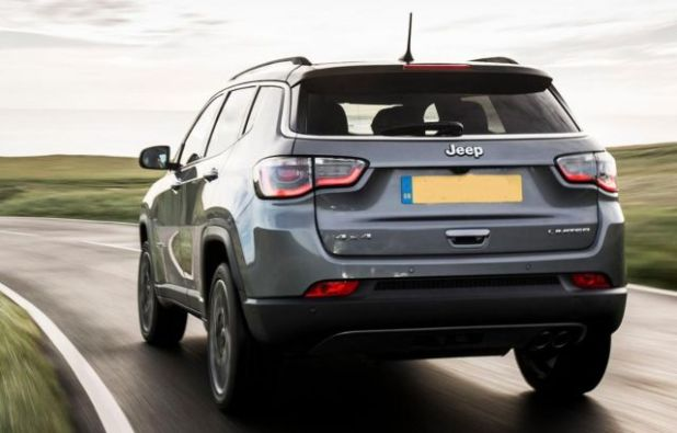 2020 Jeep Compass Turbo rear