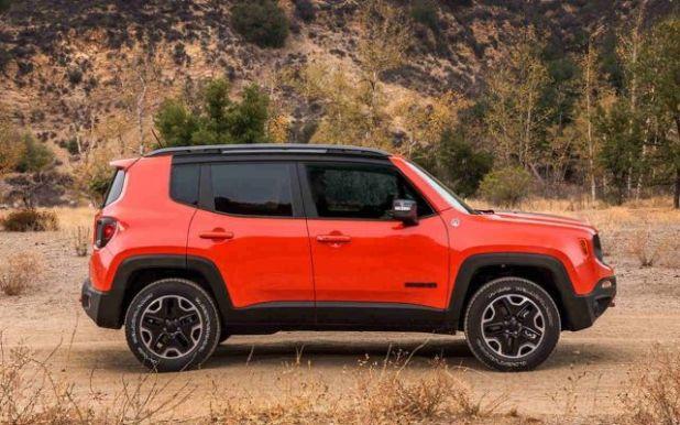 2020 Jeep Renegade Trailhawk side