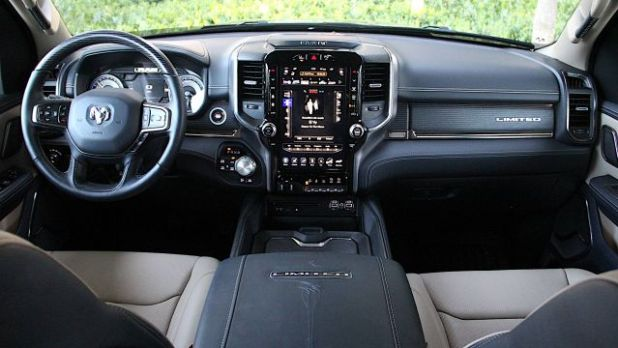 2020 Ram 1500 Limited interior