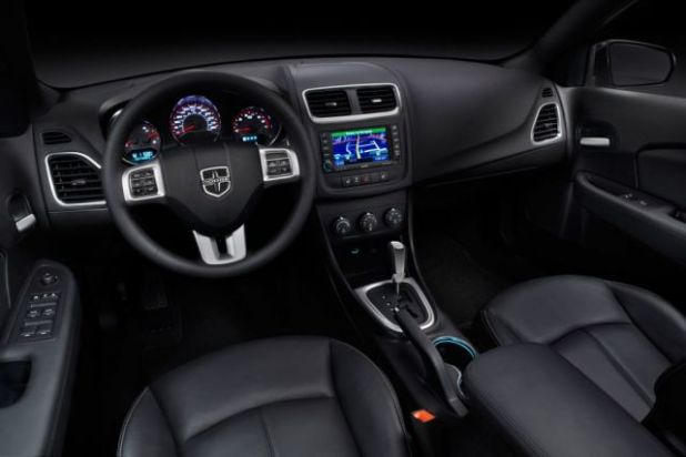 2020 Dodge Avenger interior design
