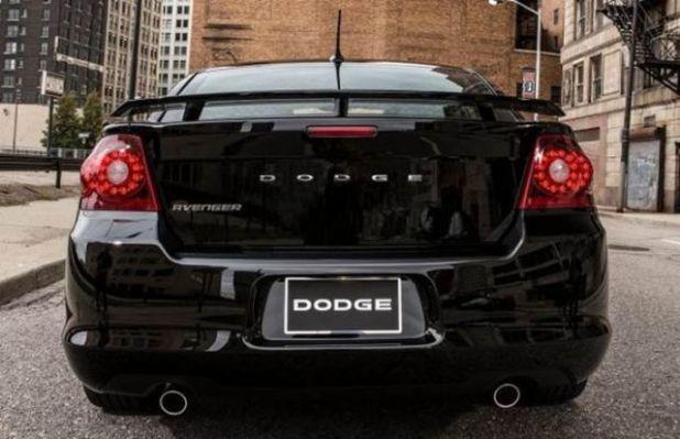 2020 Dodge Avenger rear