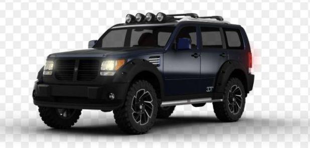 2020 Dodge Nitro front
