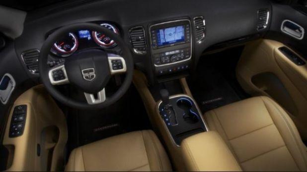 2020 Dodge Nitro interior
