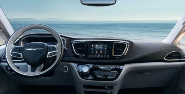 2020 Chrysler Pacifica AWD interior