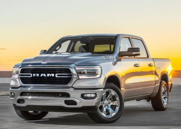 2020 Ram 1500 Diesel front