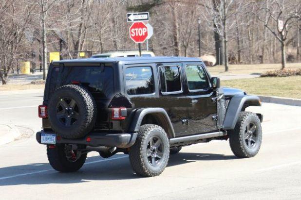 2021 Jeep Wrangler Plug-In Hybrid rear