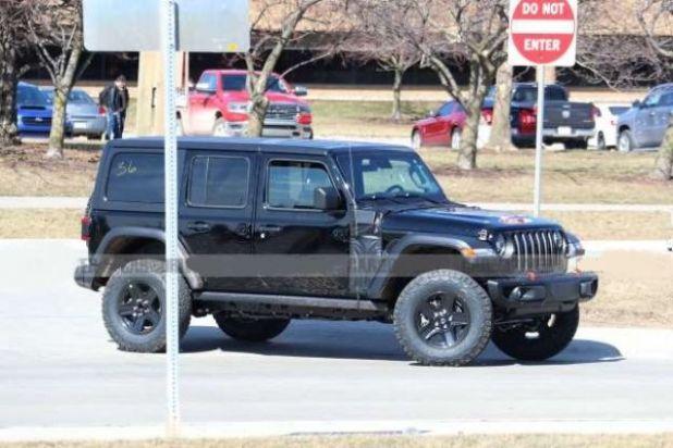 2021 Jeep Wrangler Plug-In Hybrid side