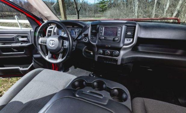 2020 Ram 2500 interior