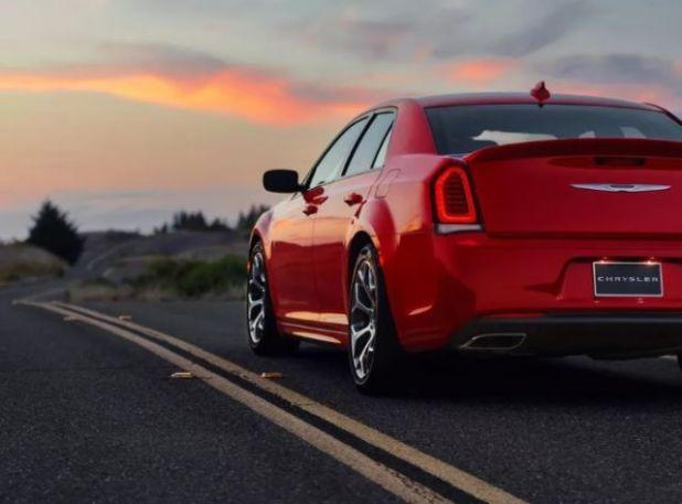 2021 Chrysler 300 rear