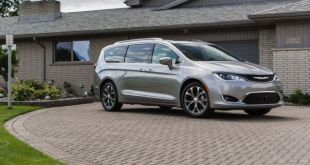 2021 Chrysler Pacifica side