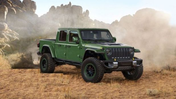 2021 Jeep Gladiator Hercules side