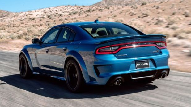2020 Dodge Charger Widebody rear
