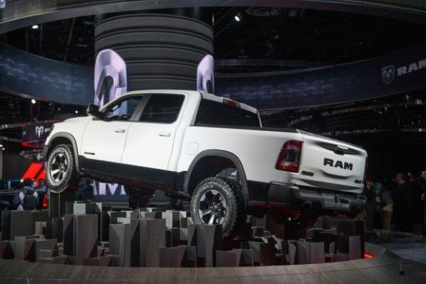2021 Ram 1500 rear