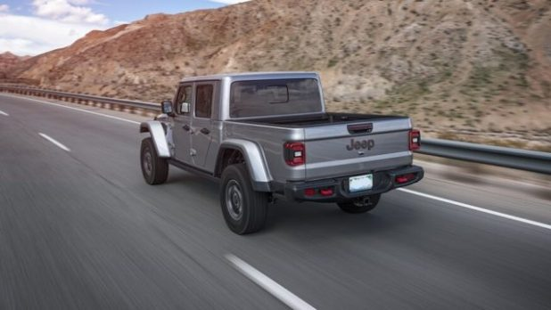 2020 Jeep Gladiator Sport rear