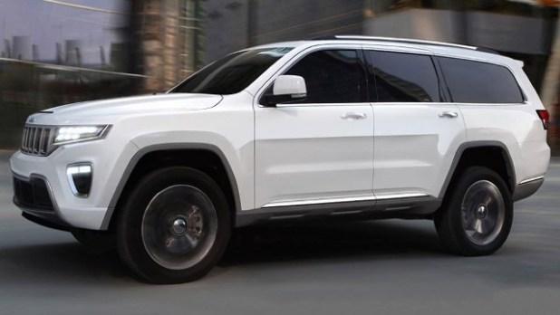 2022 Jeep Wagoneer exterior