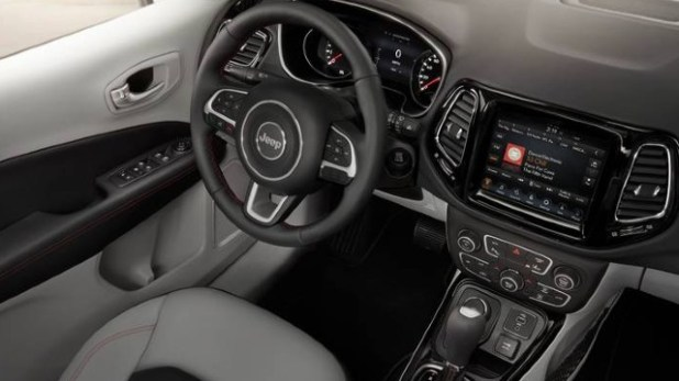2021 Jeep Compass Hybrid interior
