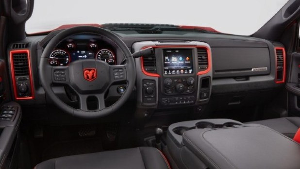 2021 Ram Macho Power Wagon interior