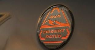 2022 Jeep Wagoneer Desert Rated badge
