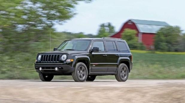 2021 Jeep Patriot exterior