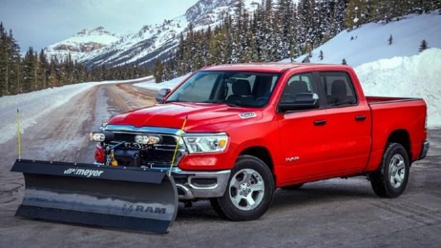 2021 Ram 1500 Laramie Snow Plow Prep Package